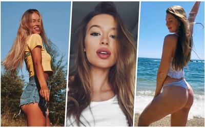 Mladšia sestra Soni Skoncovej, študentky či modelky: Slovenky a Češky na Instagrame ťa ohúria nielen krásou