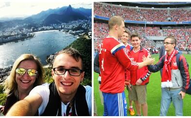 Mladý a ambiciózny žurnalista Lukáš Kendra a jeho zážitky zo sveta športu (Rozhovor)