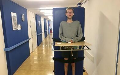 Mladý Čech chce z nemocničního lůžka změnit tuzemské operátory. Dejte nám neomezená data, požaduje