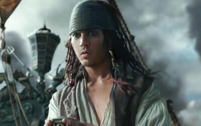 Mladý Jack Sparrow vytvořený skrze CGI ovládl poslední trailer k Pirátům z Karibiku. Co vše nás čeká v nejnovějším filmu?