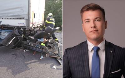 Mladý saskár neprežil tragickú nehodu na diaľnici. V dôsledku mikrospánku nabúral do kamióna, na mieste zomrel