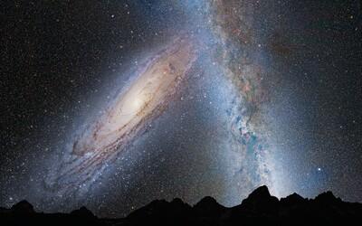Mliečna cesta sa v ďalekej budúcnosti zrazí s Andromedou. Ako to bude vyzerať a čo môžeme očakávať?