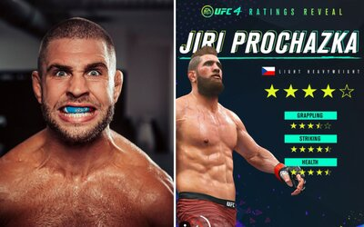 MMA bojovník Jiří Procházka se jako první Čech dostal do hry UFC! Zahrát si za něj můžeš i ty