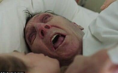 Mnozí mají problém zhlédnout celou emotivní kampaň k eutanazii. Každý by měl dle ní mít právo ukončit svůj život důstojně