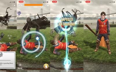 Mobilní hra Harry Potter ve stylu Pokémon GO je už dostupná. Co vše tě v ní čeká?