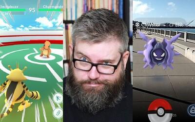 Mobilní hra z jeho domu udělala tělocvičnu Pokémonů, kterou teď zaplavují desítky hráčů