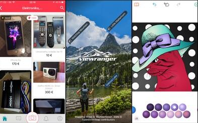 """Mobilný """"Bazoš"""", turistické mapy zadarmo, vyfarbovanie pre dospelých a ďalšie skvelé aplikácie do smartfónu"""