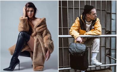 Móda Refresher: Hriešna Karolína Chomisteková, Separ vo svojej novej kolekcii či NobodyListen zahalený do Dior