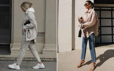 Móda Refresher: Masívne topánky a sofistikované strihy. Sleduj, ako zvládajú Slovenky a Češky príchod chladnejších dní