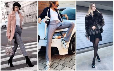 Móda Refresher: Top 10 outfitov zo slovenských a českých ulíc za posledný mesiac v roku 2017