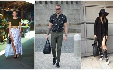 Móda zo slovenských a českých ulíc: Najlepšie outfity za mesiac máj