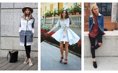 Móda zo slovenských a českých ulíc nám odhalí 12 najlepších outfitov za september