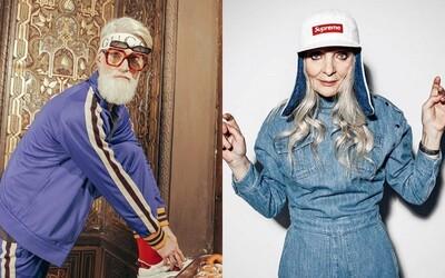 Modelingová agentúra ponúka len babičky a deduškov. Dôchodcovia nosia Supreme, promujú Gucci a pravidelne ich vidno na mólach