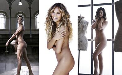 Modelka Chrissy Teigen a športovkyne či moderátorky zhodili šaty, aby oslávili krásu ženského tela