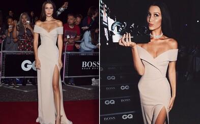 Modelkou roka sa podľa magazínu GQ stala Bella Hadid. Kráska na ceremoniáli žiarila