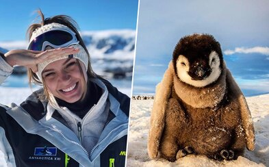 Modelky si užívajú výlet naprieč Antarktídou. Dve kamarátky si zbalili kufre a namiesto exotiky sa vydali do mrazov