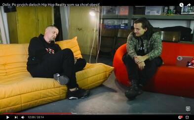 Moderátor a hypeman Osťo: Po prvých dieloch Hip Hop Reality som sa chcel obesiť (Rozhovor)