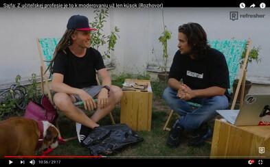 Moderátor, zabávač a po novom youtuber Sajfa nám porozprával o rapovej kariére, práci v rádiu, videách aj svojom živote (Videorozhovor)
