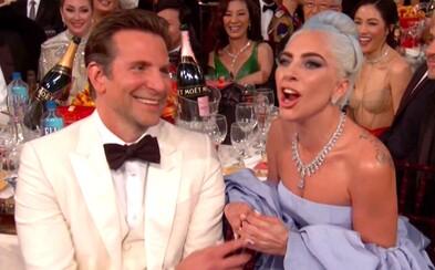 Moderátori si urobili srandu z Lady Gaga a jej 100x opakovanej ďakovnej reči za A Star is Born