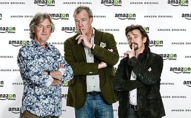 Moderátori Top Gearu si v Amazone polepšia. Clarkson zarobí desaťnásobne viac a sťažovať sa nemôžu ani jeho kolegovia