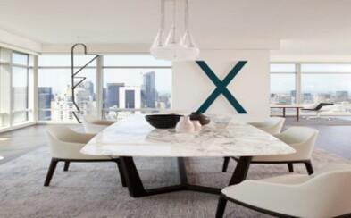 Moderný apartmán s panoramatickým výhľadom na New York