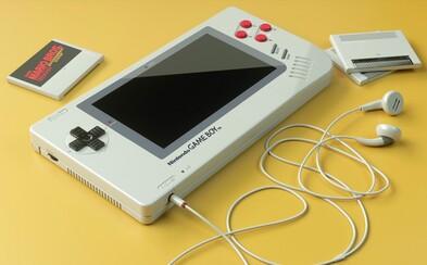 Moderný koncept vynoveného Game Boya vracia ľudí späť do detstva. Chytí sa nápadu Nintendo?