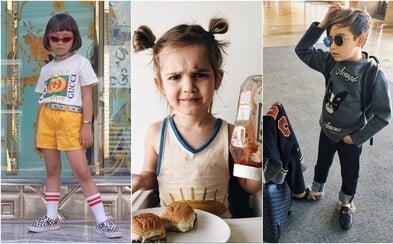 Módni blogeri, internetoví komici či kreatívni umelci. Sleduj najúspešnejších detských influencerov na Instagrame