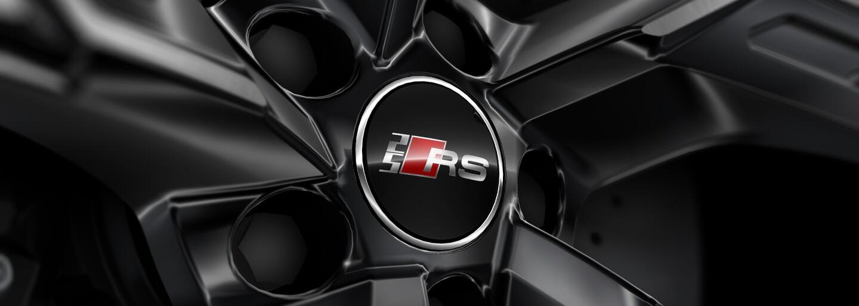 Modrá ako symbol nových RS modelov od Audi