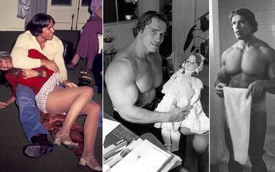 Momentky, vtipné, ale i vážne fotografie Arnolda Schwarzeneggera, ktoré si (možno) nevidel
