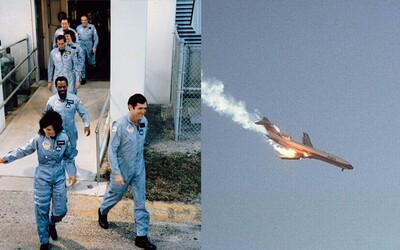 Momenty krátce před obrovskými tragédiemi. Posádka raketoplánu Challenger či chlapec padající z letadla netušili, jak skončí