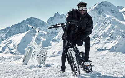 Moncler predstavuje elektrický bicykel vhodný aj do terénu s dojazdom až 110 kilometrov