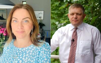 Monika Beňová nakladá Ficovi: Je v hlbokej paranoji, jeho facebookový status k Pellegrinimu je nedôstojný a neprofesionálny