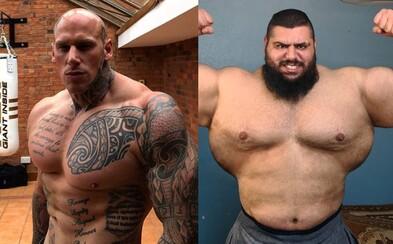 Monštruózny Martyn Ford sa v prvom MMA zápase možno stretne s iránskym Hulkom