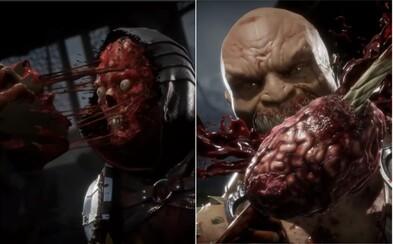 Mortal Kombat 11 bude nejbrutálnějším dílem série. Sleduj první gameplay plný krve, hnusu a zlomenin