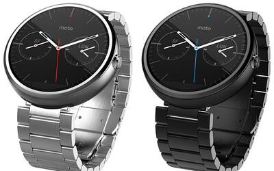 Moto 360: inteligentné hodinky vylepšené o nové náramky a ciferníky