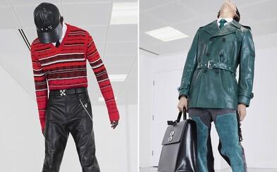 Motorkářské bundy a kožené kalhoty, ale také elegantní kabáty. Nová kolekce od Off-White™ je souhrou ulice a smetánky