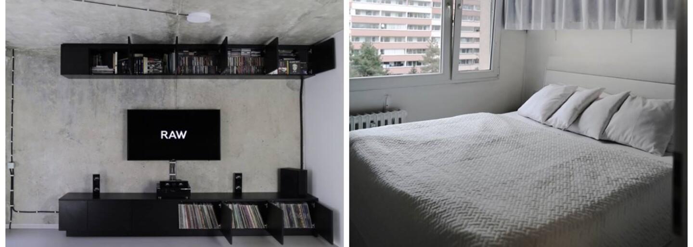 Může být bydlení v obklopení betonu a odstínů šedé útulné? Magický byt z Prahy vás přesvědčí, že je to skutečně možné