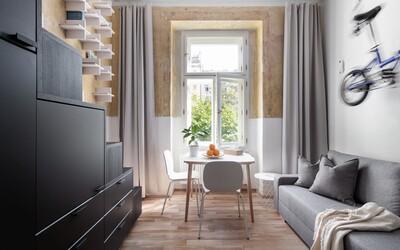 Môžeme mať plnohodnotné bývanie o výmere 20 metrov štvorcových? Českí architekti ťa presvedčia o tom, že áno