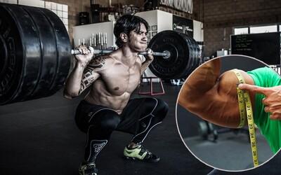 Môžu drepy aj za väčší nárast svalov hornej časti tela a do akej miery zvyšujú produkciu rastového hormónu?