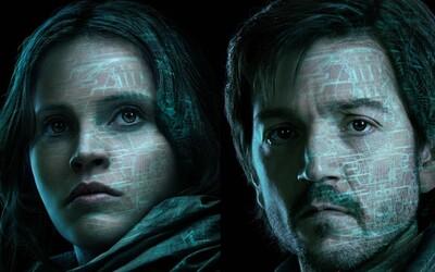 Mrazivé plagáty a skvelé nové obrázky k Rogue One nám pripomínajú, že čakanie na premiéru bude bolestivé