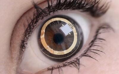 Mrknutím oka natočí, co vidíte. Nový patent Sony odhalil inteligentní kontaktní čočku s vlastní kamerou