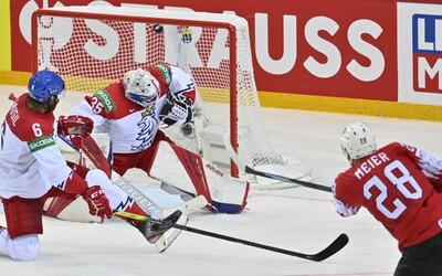 MS v hokeji 2021: Nejhorší vstup Čechů do turnaje v posledních 30 letech, Švýcarsku podlehli 2:5