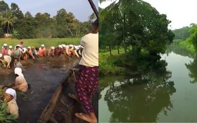 Mŕtva rieka sa znovuzrodila vďaka 700 obyvateľom jednej indickej dedinky