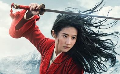 Mulan sa dostane do kín a streamigovú platformu v rovnaký deň