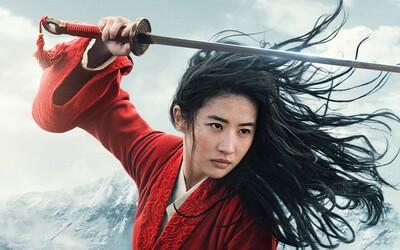 Mulan zachraňuje Čínu ve válečném velkofilmu od Disney. Akční trailer slibuje jedno z největších dobrodružství roku 2020
