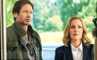Mulder a Scullyová se vracejí do služby v prvních záběrech z natáčení