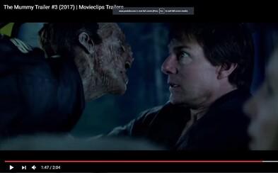 Múmia je v čerstvom traileri oveľa temnejšia, nebezpečnejšia a dokazuje svetu svoju nepredstaviteľnú silu