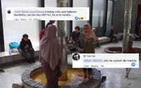 """Muslimky si namočily nohy do vřídla. """"Jsou to děvky. Tady je už jen jediný řešení,"""" píší Češi"""