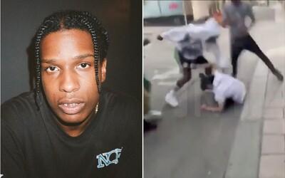 Muž, kterého ASAP Rocky napadl, je na svobodě. Iniciativa Trumpa, Kim Kardashian a Kanyeho Westa mohla raperovi uškodit