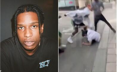 Muž, ktorého ASAP Rocky napadol, je na slobode. Iniciatíva Trumpa, Kim Kardashian a Kanyeho Westa mohla raperovi uškodiť